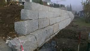 granit steinmauern gartenbau berger