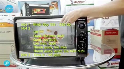 Oven Pensonic Ae 19n l 242 n豌盻嬾g pensonic ae 420n pensonic electric oven ae 420n unboxing and review