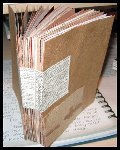 How To Make A Journal Out Of Paper - 25 best ideas about brown paper bags on paper