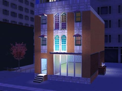 mod the sims soho townhouse starter apartment building