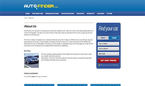 Auto Finder by Auto Finder Reviews Real Customer Reviews