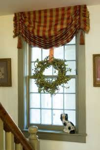 cottage window treatment for the home