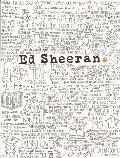ed sheeran perfect meaning 38 best ed sheeran song lyrics images on pinterest