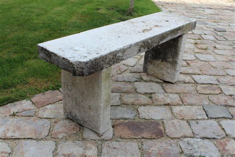 stone garden bench with back stone garden bench