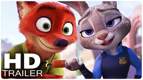 disney film zootopia trailer zootopia all trailer disney movie 2016 youtube