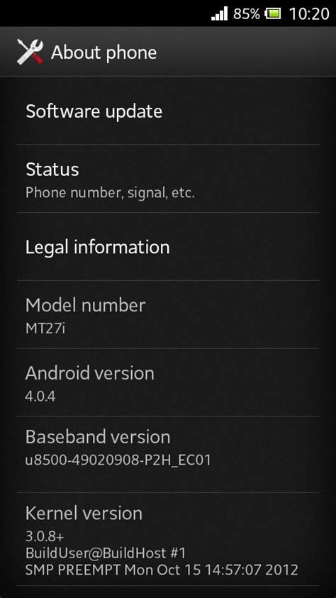 tutorial android update update sony xperia sola mt27i to official ics 4 0 4 firmware