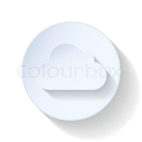wohnung icon wohnung wolke icon vektorgrafik colourbox