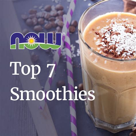 7 Smoothie Recipes by Beet Sugar Now Foods