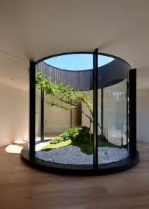 What Style Of Architecture Is My House Design Detail An Atrium Adds Nature And Light Inside