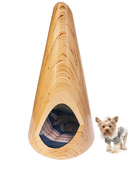 dog house lounge modern plywood indoor dog lounge pup tent by slade architecture digsdigs