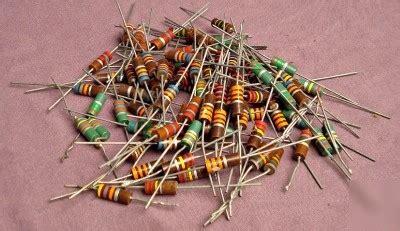 reading vintage resistors vintage ohmite resistors grab bag