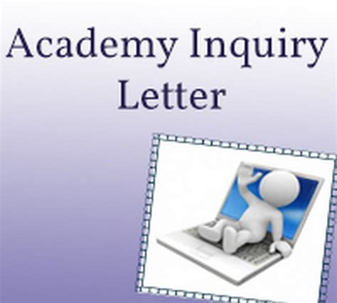Inquiry Letter Importance academy inquiry letter