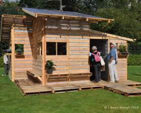 pallet house plans the pallet house by i beam design costs only 75 and uses