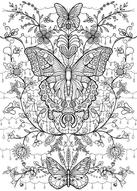 coloring books for grown ups butterflies mandala coloring book 123 best coloring butterflys images on