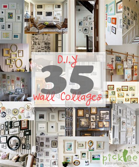 wall picture collage ideen wall photo collages crafts diy