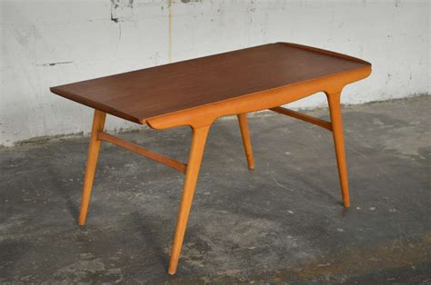 expanding coffee table danish mid century aerodynamic expanding coffee table at