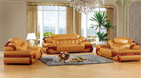 China Living Room Furniture Aliexpress Buy Antique European Leather Sofa Set Living Room Sofa Made In China Sectional