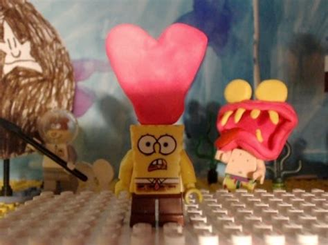 spongebob valentines day episode lego spongebob valentines day