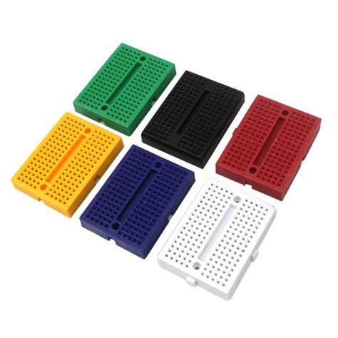 Syb 170 Small Breadboard Protoboard Projectboard syb 170 mini breadboard solderless invent electronics