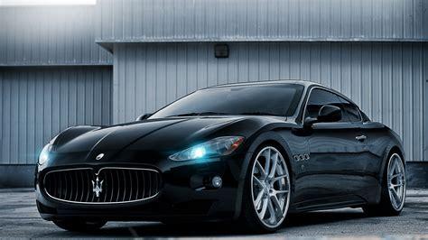 Is Maserati A Car 2014 Maserati Gt Black Car Hd Desktop Wallpaper Background
