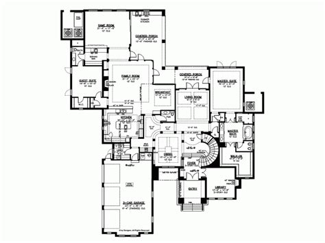 Modern 5 Bedroom House Designs by Eplans Mediterranean Modern House Plan Sweeping