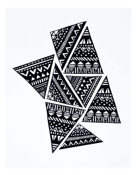 zentangle triangle pattern triangle tangle by brita doodling pinterest