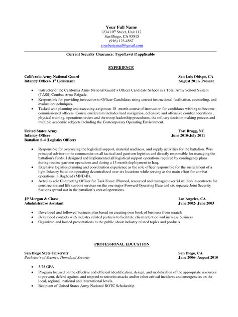 Civilian Sle Resume by Resumes To Civilian Sle 28 Images Resume Builder 2017 Resume Builder Exle Resume To