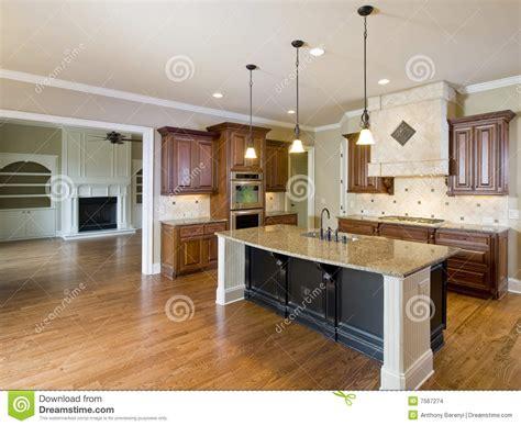 interni salone cucina e salone interni domestici di lusso immagini stock
