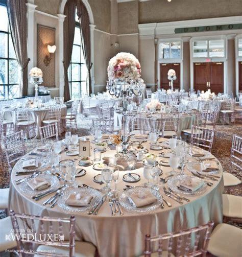 white silver decorating theme white silver themes archives weddings romantique