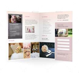 wedding brochures templates free 16 wedding planner brochures free psd ai eps format