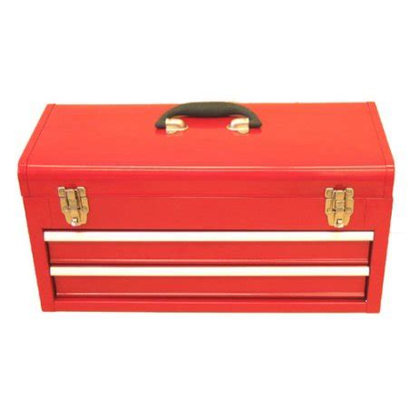 Portable Tool Boxes With Drawers by Excel Hardware Portable Tool Box With 2 Drawers Walmart