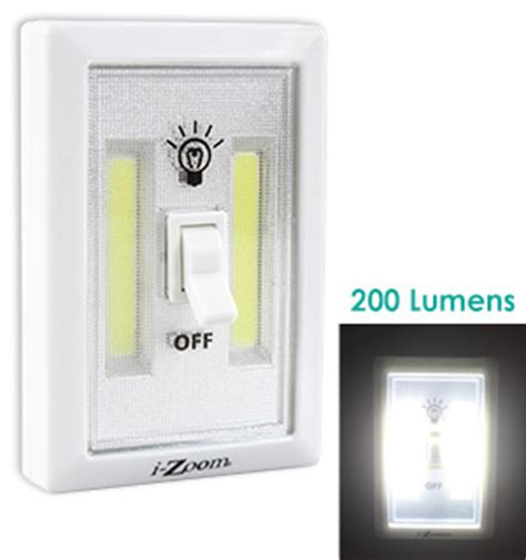 led light switch light wall switch w cob led technology pulsetv
