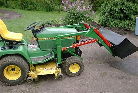 Garden Tractor Loader by How To Build A Loader For A Garden Tractor Plans How To Build Deck Tractors