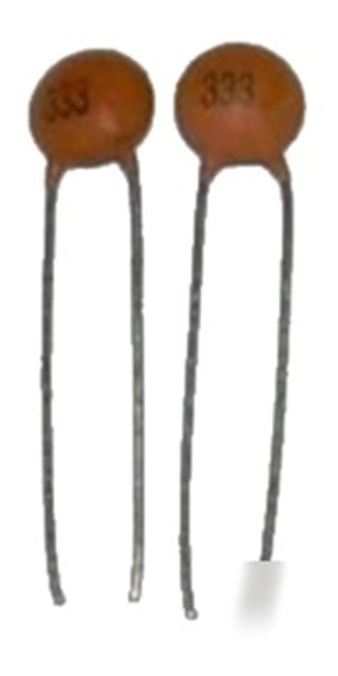 capacitor y5v 25x ceramic capacitor 33nf 50v y5v