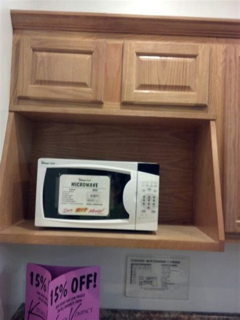 Microwave On A Shelf by Microwave Shelf Kitchen And Backsplash