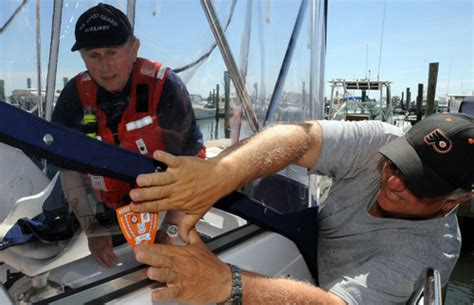 boat safety check coast guard boardings and your fourth amendment rights
