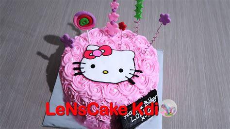 permainan membuat kue ulang tahun hello kitty cara membuat kue ulang tahun kue tart versi on the spot
