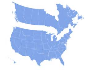 printable map of us and canada clipart best