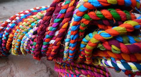How To Make Handcraft - rope by waste gaatha ग थ handicrafts