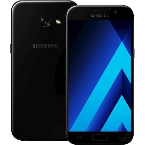 Samsung A5 2017 Black samsung galaxy a520 a5 2017 black mobile phone megatel