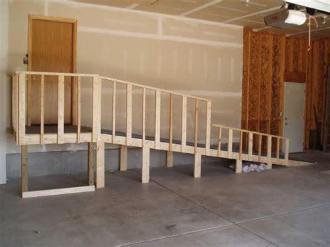 wooden handicap r inside garage handicap accessible