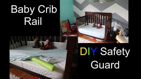 baby safety room baby crib rail diy safety guard