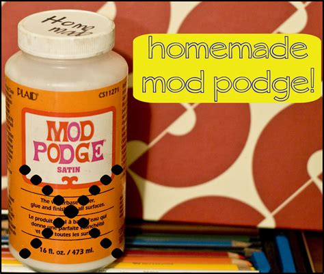 diy mod podge how to make mod podge why you might not want to