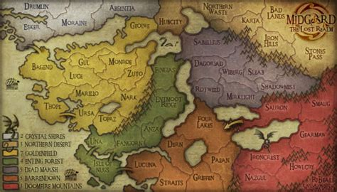 Midgard And Middle Earth conquer club view topic middle earth map