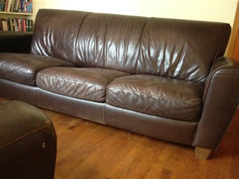 3 Seater Leather Sofa For Sale For Sale In Pouladuff Cork