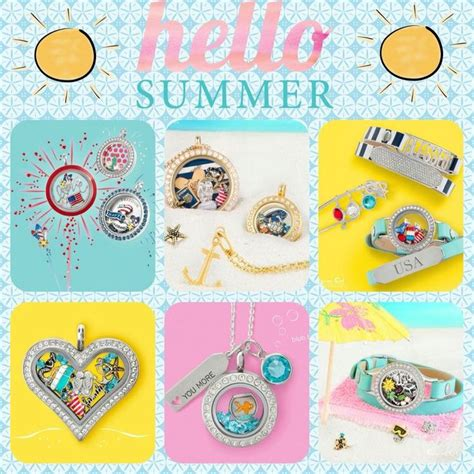 Origami Owl Summer - 101 best origami owl summer images on living