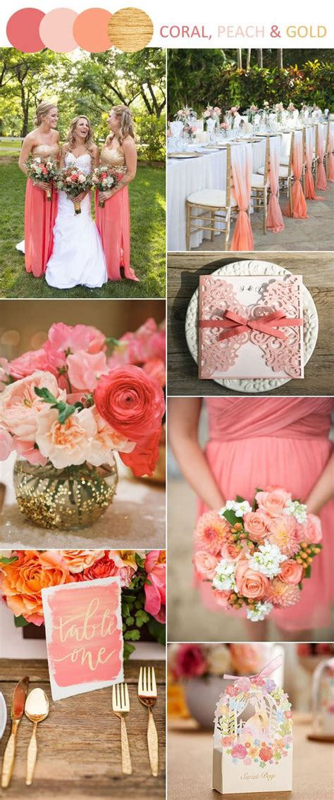 8 stunning wedding colors in shades of gold for 2017 brides wedding colors wedding colors