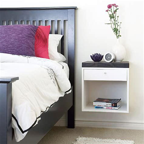 Wall Mounted Nightstand Diy home dzine home diy home diy wall mounted bedside table