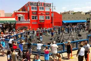Wieght Bench Photo Of The Week Muscle Beach Venice On The California Coast