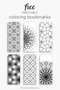 bookmark templates to print 25 best ideas about printable bookmarks on